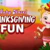 Baby Hazel Thanksgiving Fun