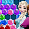 Frozen Elsa: Hexagon Puzzle